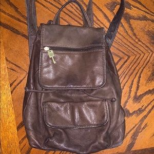 Fossil Classic Leather vintage backpack